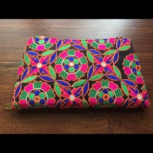 NEW Boho Multi Color Large Wallet